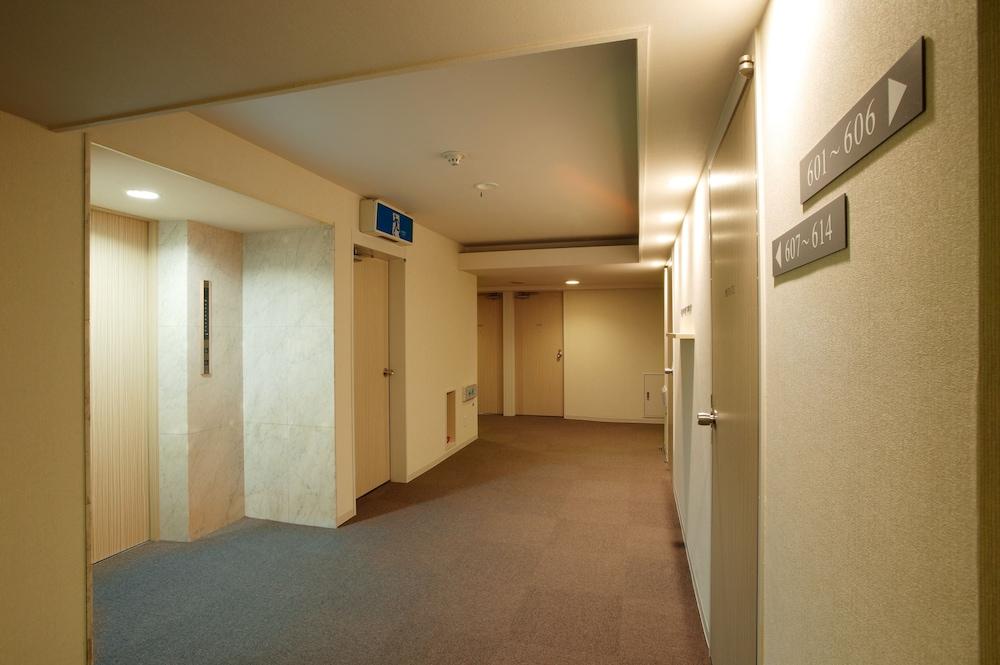 오카야마 뷰 호텔(Okayama View Hotel) Hotel Image 43 - Hallway