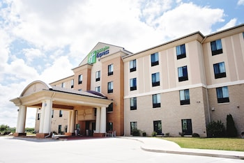 Holiday Inn Express and Suites..