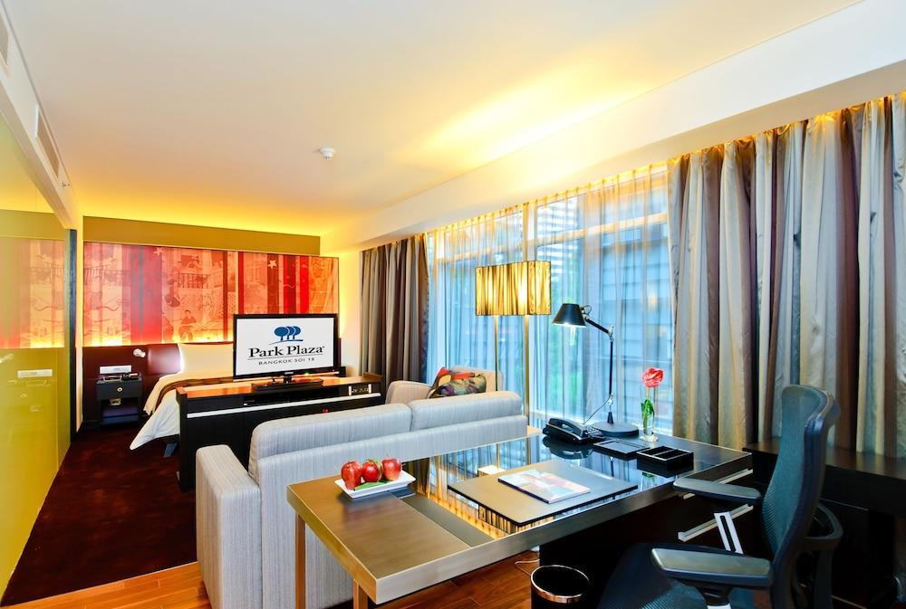 파크 플라자 방콕 소이 18(Park Plaza Bangkok Soi 18) Hotel Image 6 - Guestroom