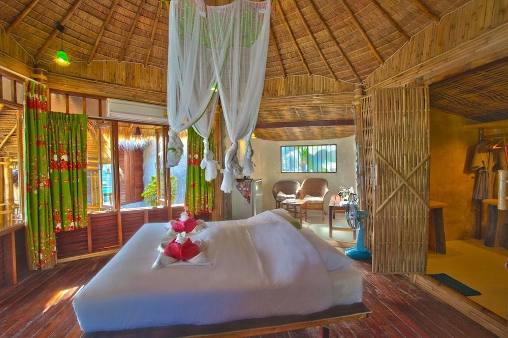 코 타오 뱀부 헛츠(Koh Tao Bamboo Huts) Hotel Image 11 - Guestroom
