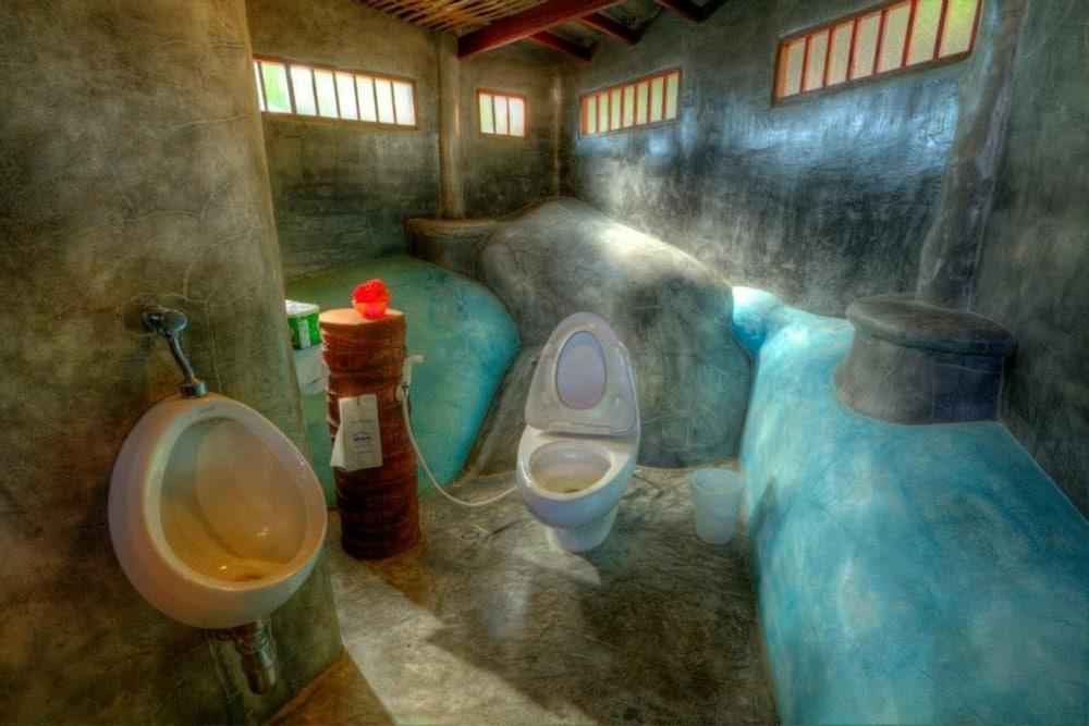 코 타오 뱀부 헛츠(Koh Tao Bamboo Huts) Hotel Image 65 - Bathroom