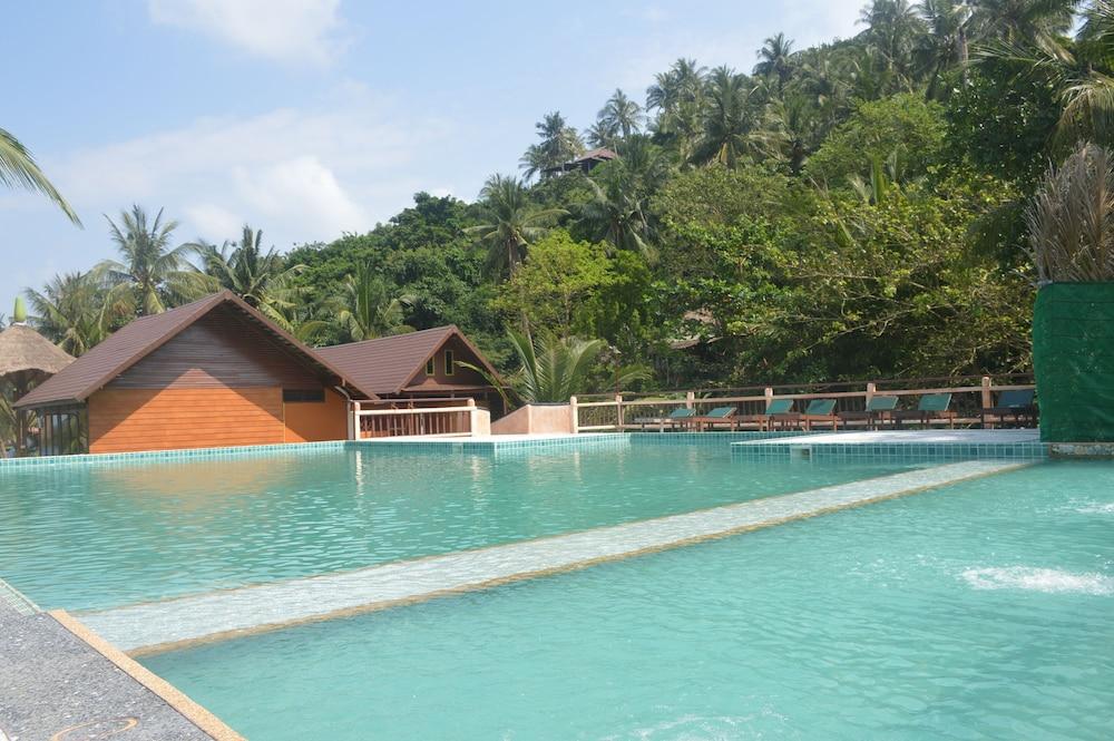 코 타오 뱀부 헛츠(Koh Tao Bamboo Huts) Hotel Image 2 - Pool