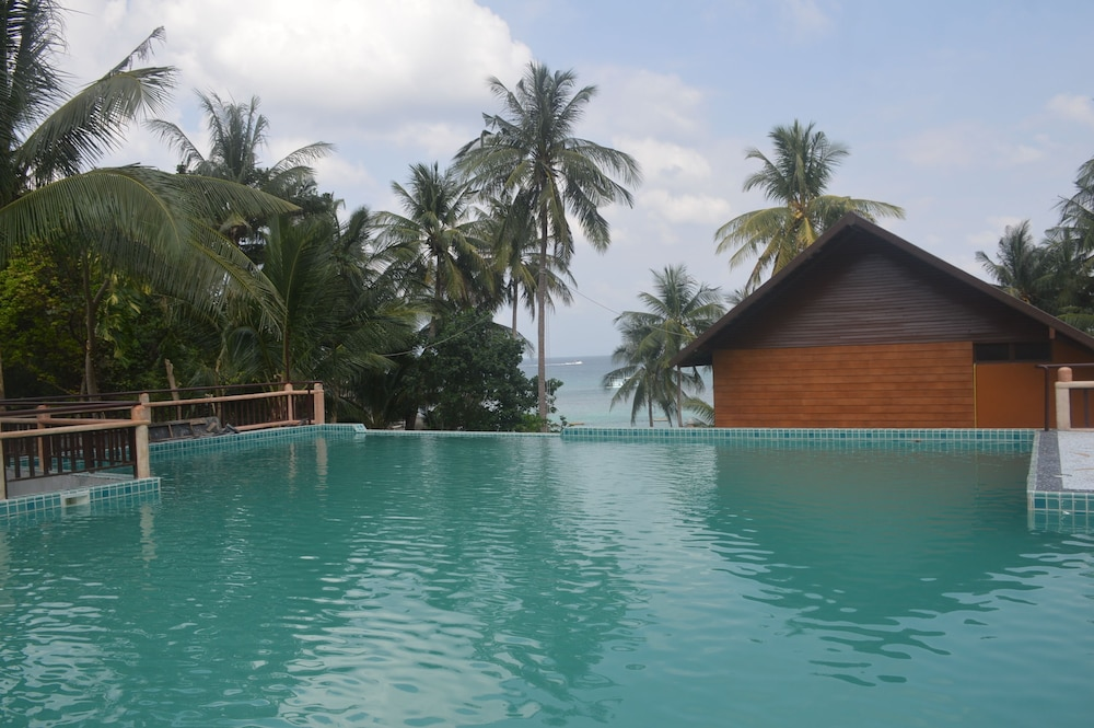 코 타오 뱀부 헛츠(Koh Tao Bamboo Huts) Hotel Image 84 - Outdoor Pool