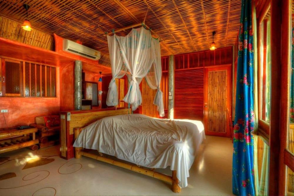 코 타오 뱀부 헛츠(Koh Tao Bamboo Huts) Hotel Image 36 - Guestroom