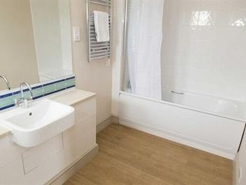 해들리 보울링 그린 인(Hadley Bowling Green Inn) Hotel Image 12 - Bathroom