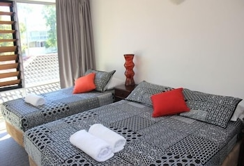 타운빌 홀리데이 아파트먼트(Townsville Holiday Apartments) Hotel Image 3 - Guestroom