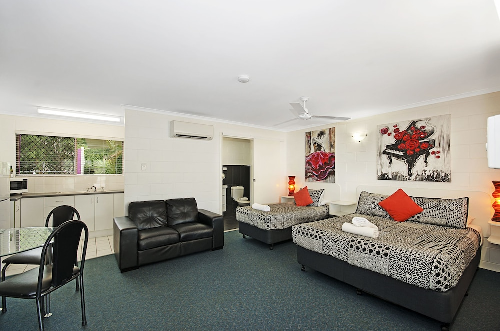 타운빌 홀리데이 아파트먼트(Townsville Holiday Apartments) Hotel Image 25 - Living Area