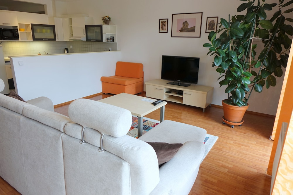 EEL 어코모데이션 브르노(EEL accommodation Brno) Hotel Image 7 - Living Area