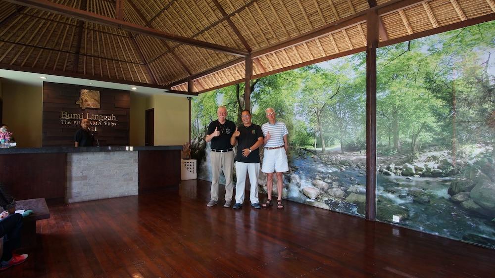 부미 링가 더 프라타마 빌라스(Bumi Linggah The Pratama Villas) Hotel Image 25 - Lobby Lounge
