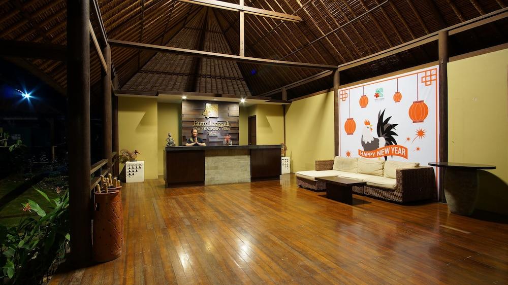 부미 링가 더 프라타마 빌라스(Bumi Linggah The Pratama Villas) Hotel Image 24 - Reception