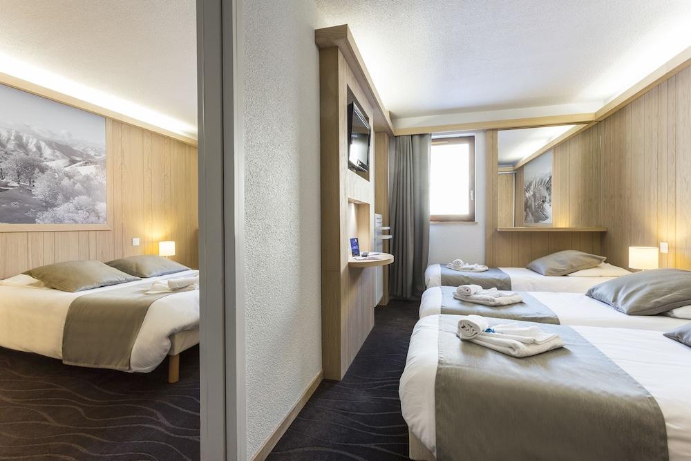 오텔 클럽 엠엠비 르 베르제(Hôtel Club mmv Les Bergers) Hotel Image 5 - Guestroom