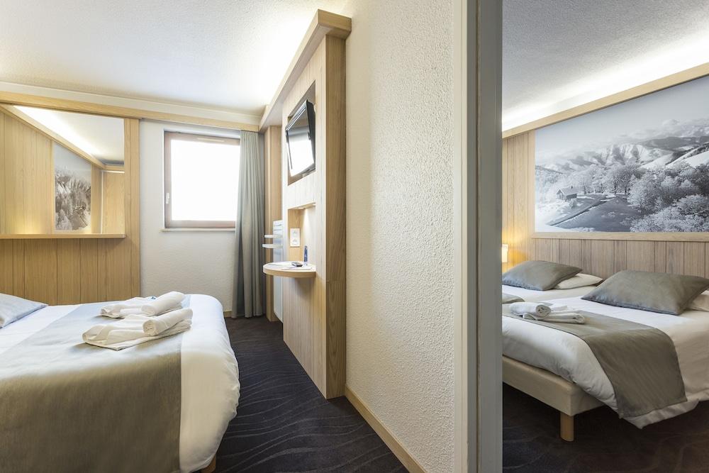 오텔 클럽 엠엠비 르 베르제(Hôtel Club mmv Les Bergers) Hotel Image 7 - Guestroom