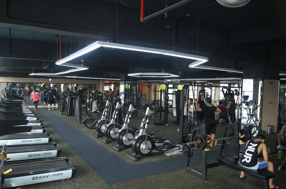 산리안 호텔(Sanlian Hotel) Hotel Image 15 - Fitness Facility
