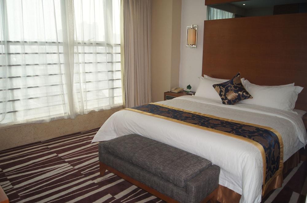 산리안 호텔(Sanlian Hotel) Hotel Image 2 - Guestroom