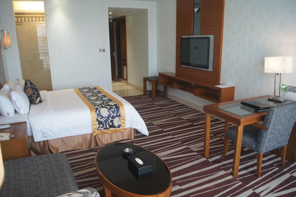 산리안 호텔(Sanlian Hotel) Hotel Image 6 - Guestroom
