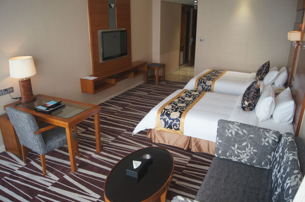 산리안 호텔(Sanlian Hotel) Hotel Image 7 - Guestroom