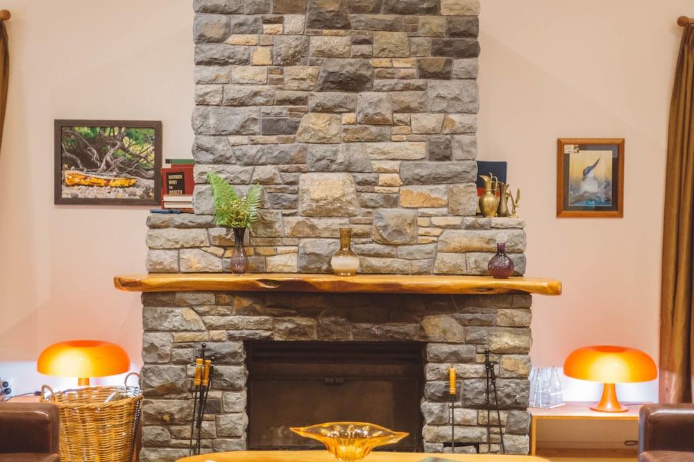 탕기아로 키위 리트리트(Tangiaro Kiwi Retreat) Hotel Image 31 - Fireplace