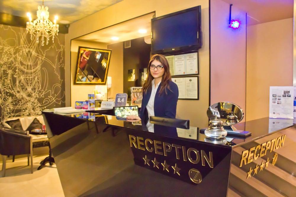 지 이그제큐티브 부티크 호텔(Z Executive Boutique Hotel) Hotel Image 2 - Reception