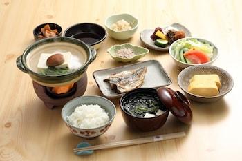 GION RYOKAN KARAKU Breakfast Meal