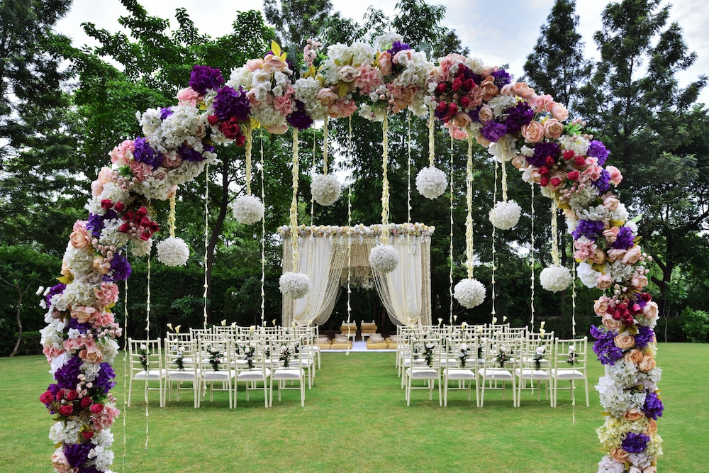 JW 메리어트 호텔 찬디가르(JW Marriott Hotel Chandigarh) Hotel Image 44 - Outdoor Wedding Area