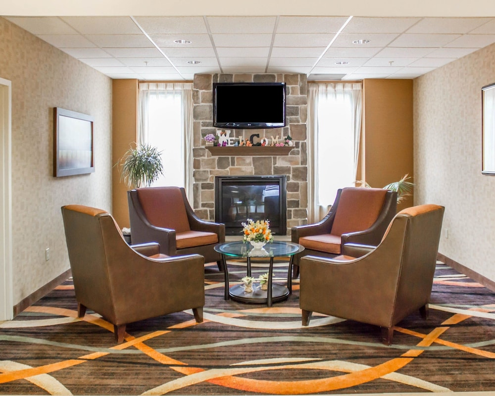 컴포트 스위트(Comfort Suites) Hotel Image 2 - Lobby