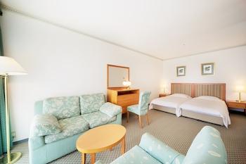 バルコニー トリプルルーム (シングルベッド2台+エキストラベッド1台)|和歌山マリーナシティホテル