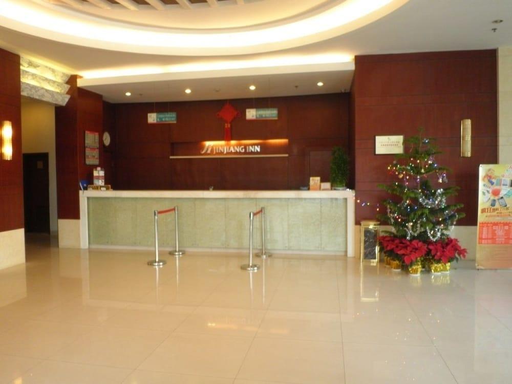 진지앙 인 양푸 브리지(Jinjiang Inn Yangpu Bridge) Hotel Image 1 - Lobby