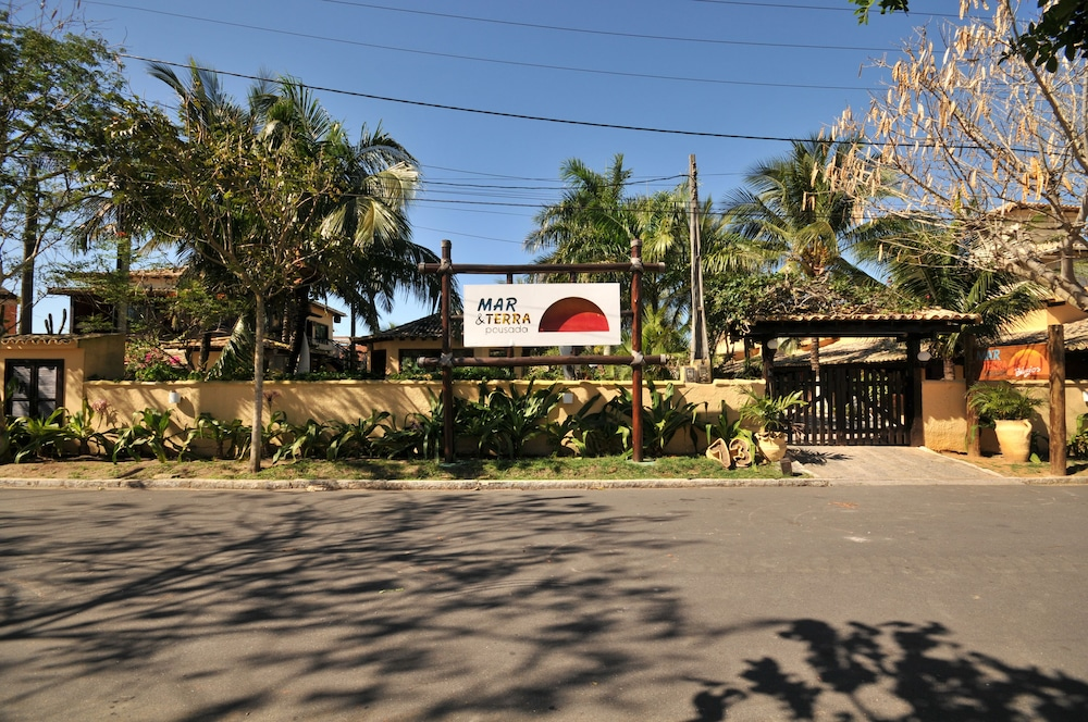 포우사다 마르 에 테라(Pousada Mar e Terra) Hotel Image 47 - Hotel Front