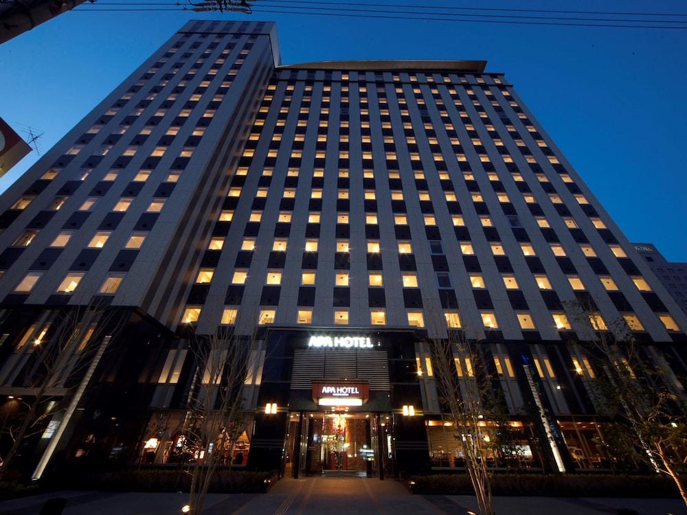 아파 호텔 나고야-사카에(APA Hotel Nagoya-Sakae) Hotel Image 53 - 호텔 정면 - 저녁/밤