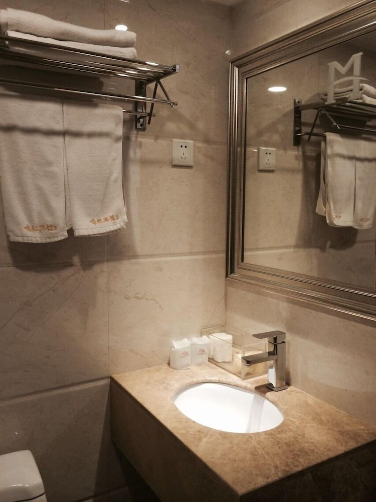 광저우 밍홍 호텔-시완(Guangzhou Minghong Hotel -Xiwan) Hotel Image 14 - Bathroom