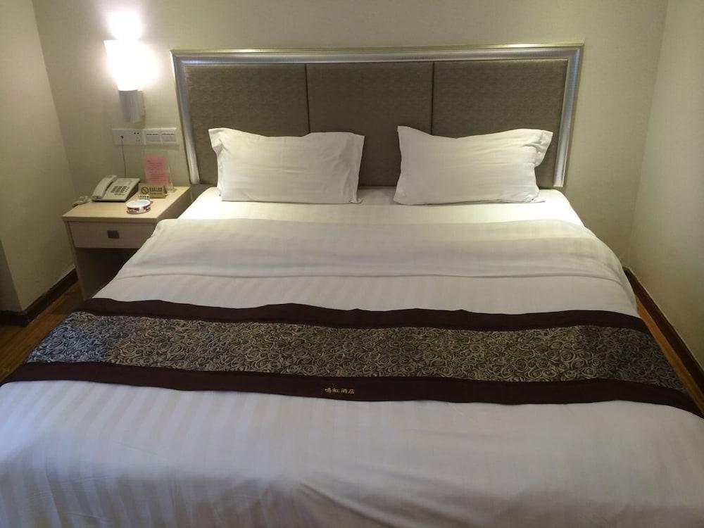 광저우 밍홍 호텔-시완(Guangzhou Minghong Hotel -Xiwan) Hotel Image 4 - Guestroom