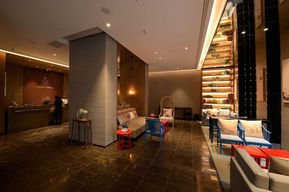 광저우 시티 조인 호텔 시파이차오 브랜치(Guangzhou City Join Hotel Shipai Qiao Branch) Hotel Image 3 - Lobby Sitting Area