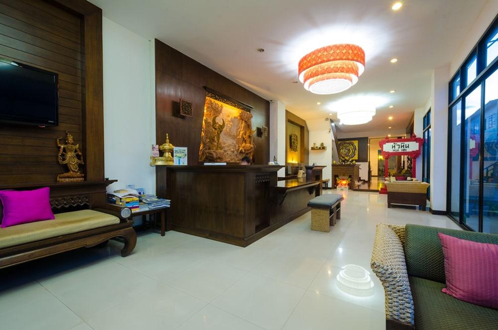 니차 후아인 호텔(Nicha Hua Hin Hotel) Hotel Image 4 - Lobby Sitting Area