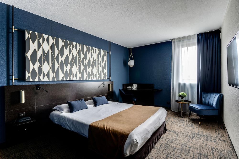 브릿 호텔 두 스타드(Brit Hotel Du Stade) Hotel Image 13 - Guestroom