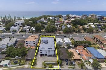 Aerial View at Sunshine Beach Resort in Miami