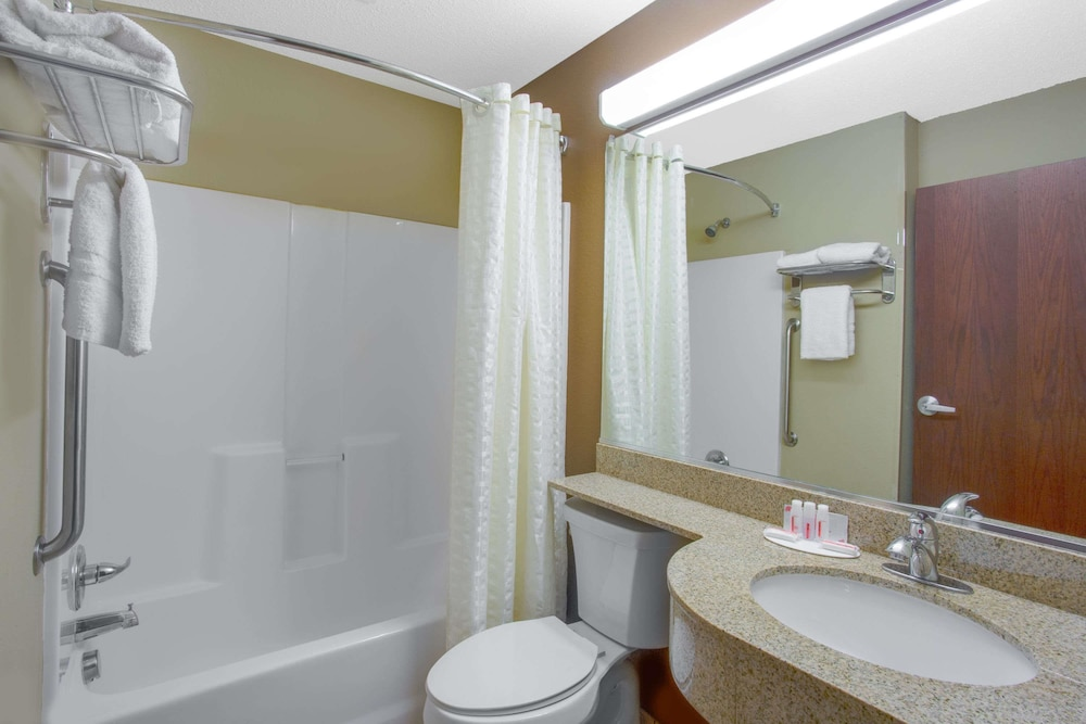 마이크로텔 인 앤드 스위트 바이 윈덤 해리슨버그(Microtel Inn & Suites by Wyndham Harrisonburg) Hotel Thumbnail Image 10 - Bathroom