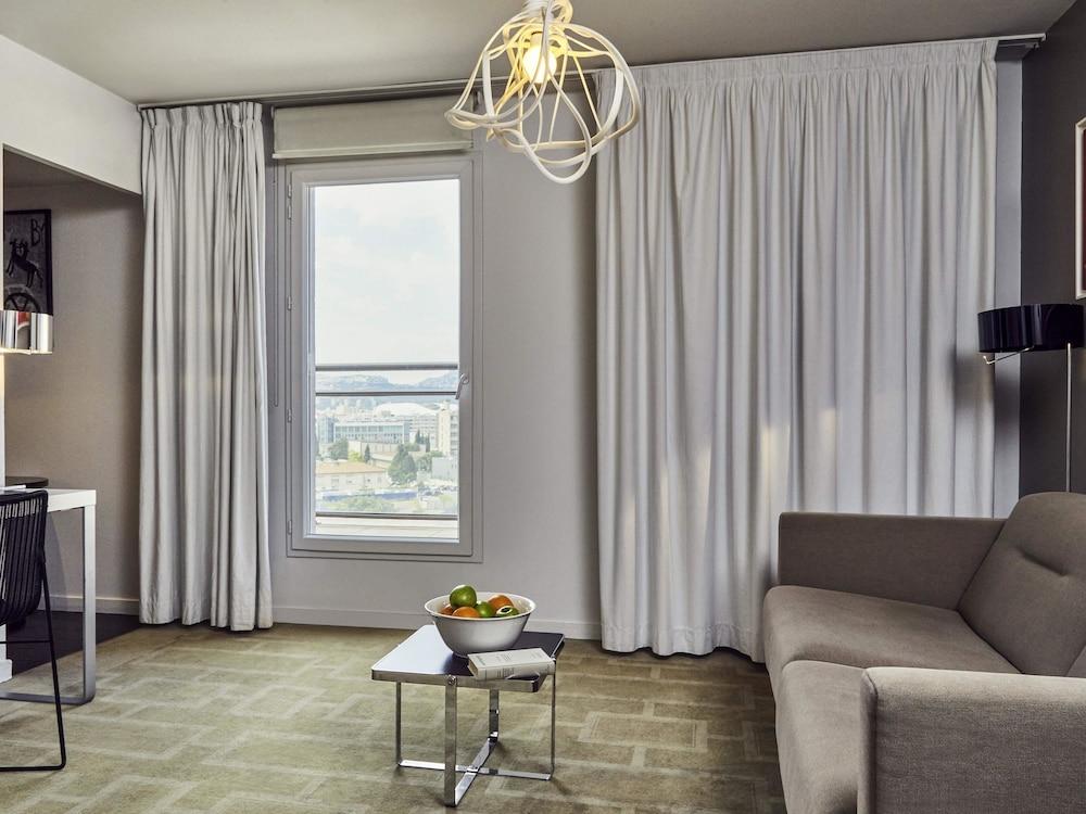하이파크 바이 아다지오 마르세유(Hipark by Adagio Marseille) Hotel Image 22 - Guestroom