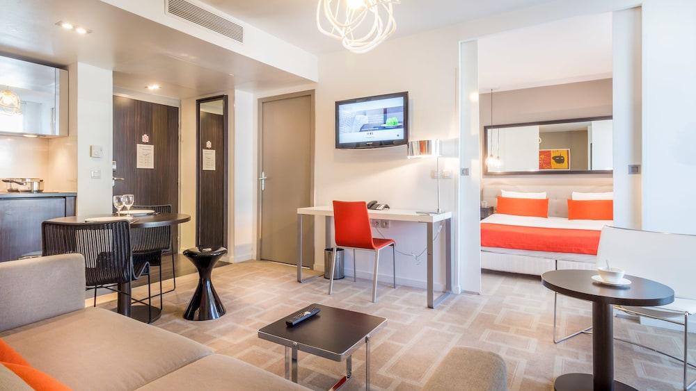 하이파크 바이 아다지오 마르세유(Hipark by Adagio Marseille) Hotel Image 32 - Living Area