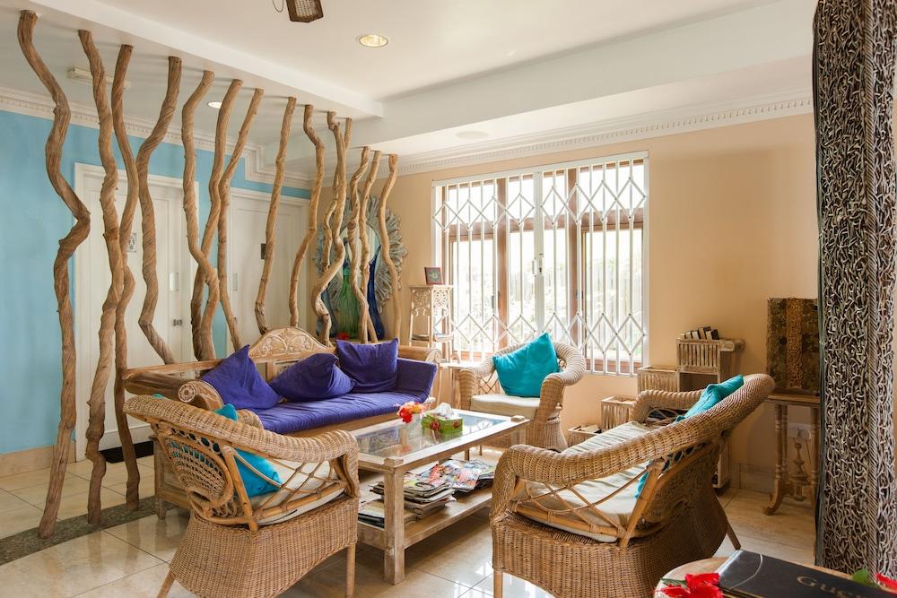 르 릴렉스 비치 하우스 - 라 디구에(Le Relax Beach House - La Digue) Hotel Image 16 - Interior Entrance