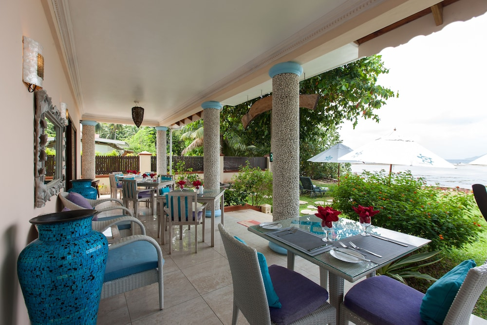 르 릴렉스 비치 하우스 - 라 디구에(Le Relax Beach House - La Digue) Hotel Image 14 - Dining
