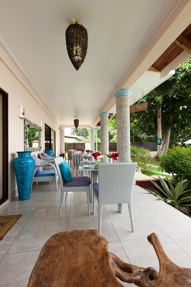 르 릴렉스 비치 하우스 - 라 디구에(Le Relax Beach House - La Digue) Hotel Image 15 - Dining