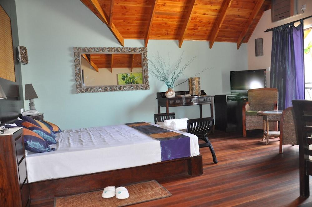 르 릴렉스 비치 하우스 - 라 디구에(Le Relax Beach House - La Digue) Hotel Image 4 - Guestroom