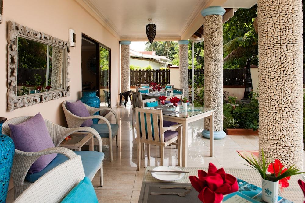 르 릴렉스 비치 하우스 - 라 디구에(Le Relax Beach House - La Digue) Hotel Image 19 - Restaurant