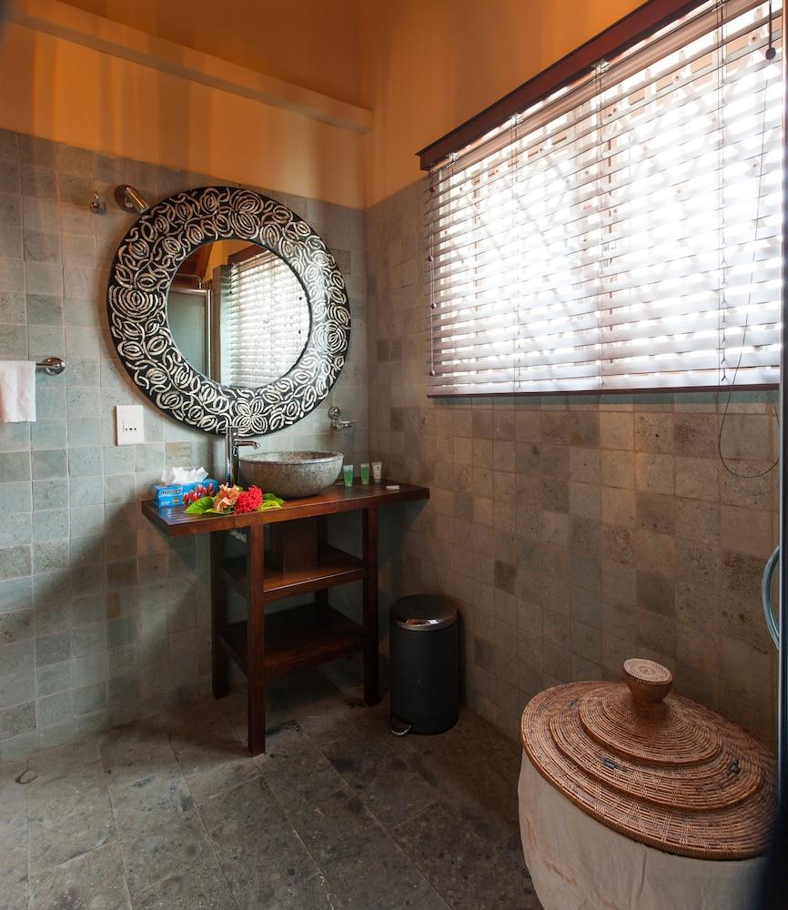 르 릴렉스 비치 하우스 - 라 디구에(Le Relax Beach House - La Digue) Hotel Image 12 - Bathroom