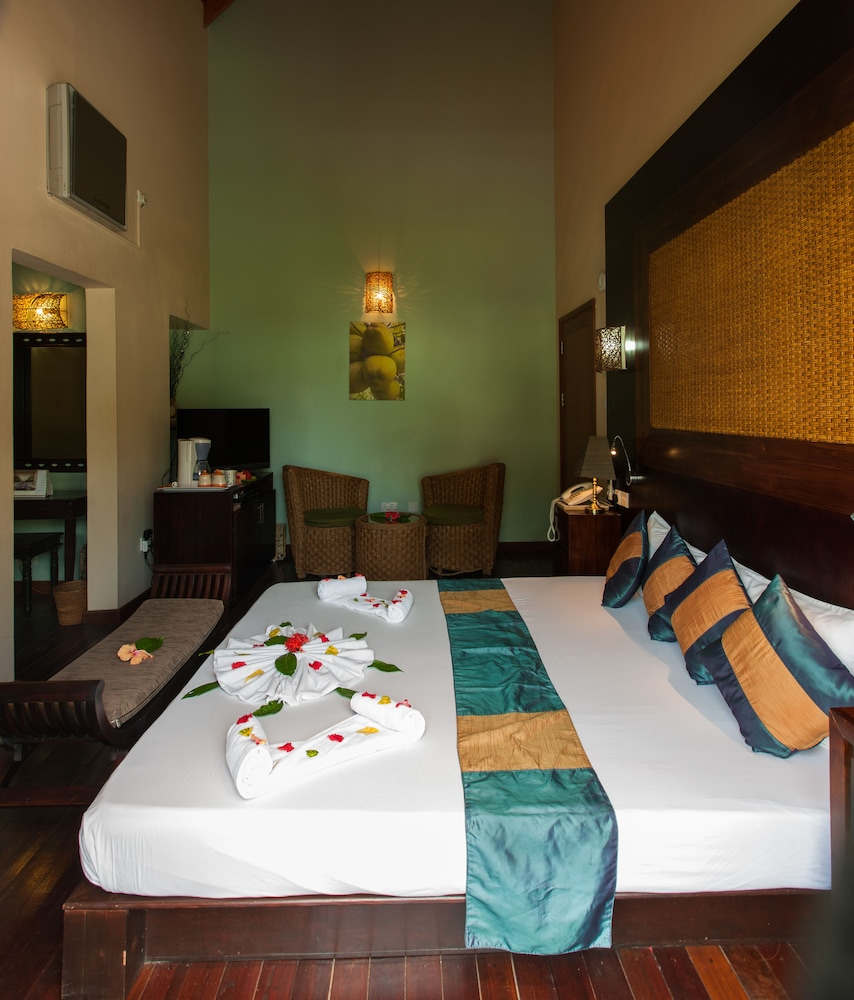 르 릴렉스 비치 하우스 - 라 디구에(Le Relax Beach House - La Digue) Hotel Image 10 - Guestroom