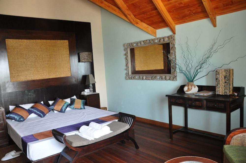 르 릴렉스 비치 하우스 - 라 디구에(Le Relax Beach House - La Digue) Hotel Image 3 - Guestroom