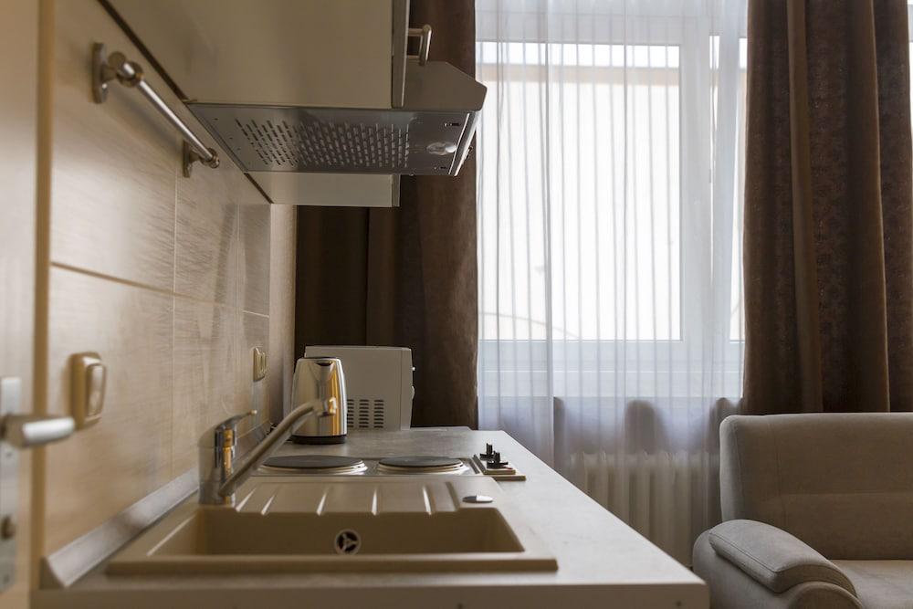 호텔 레벤스퀠 암 체크포인트 찰리 베를린(Hotel LebensQuelle am Checkpoint Charlie Berlin) Hotel Image 36 - In-Room Kitchenette