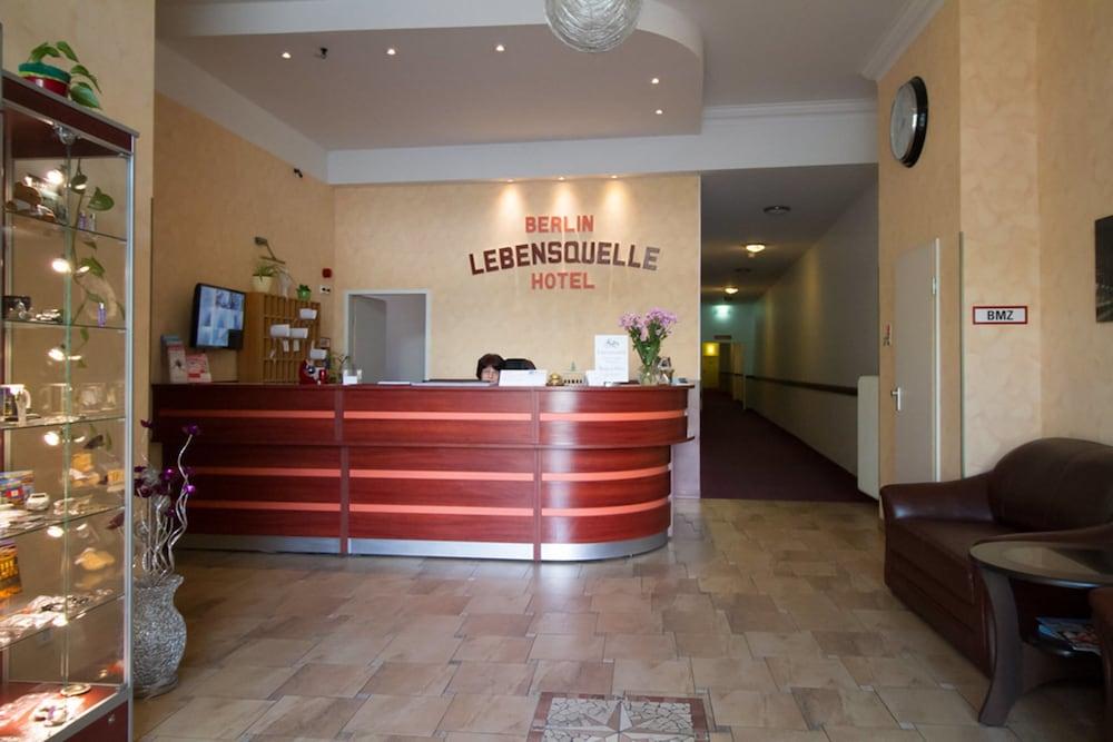 호텔 레벤스퀠 암 체크포인트 찰리 베를린(Hotel LebensQuelle am Checkpoint Charlie Berlin) Hotel Image 18 - Interior Entrance
