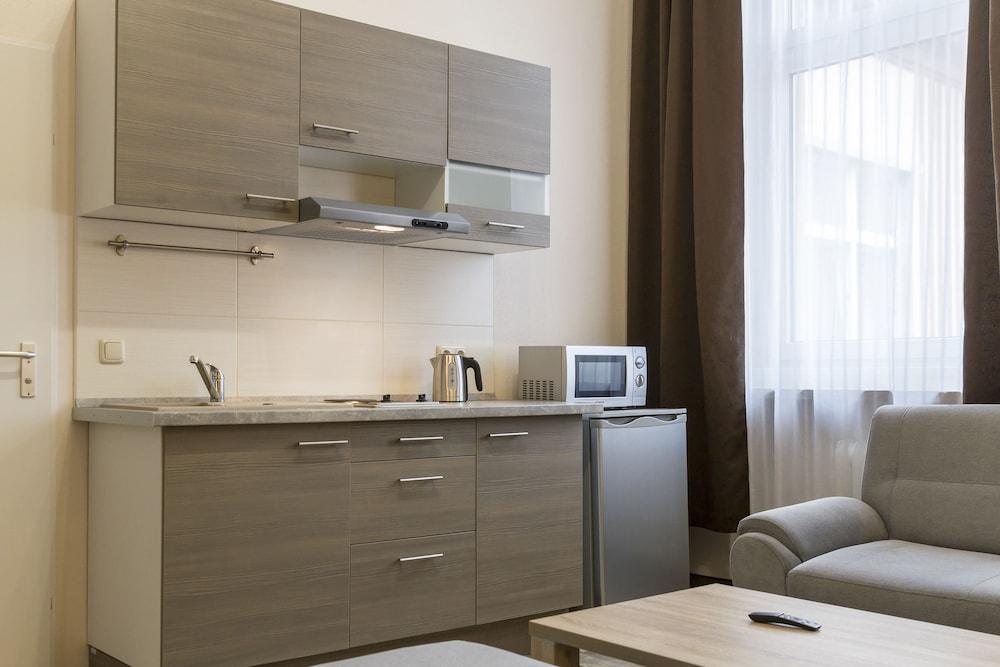 호텔 레벤스퀠 암 체크포인트 찰리 베를린(Hotel LebensQuelle am Checkpoint Charlie Berlin) Hotel Image 16 - In-Room Kitchen