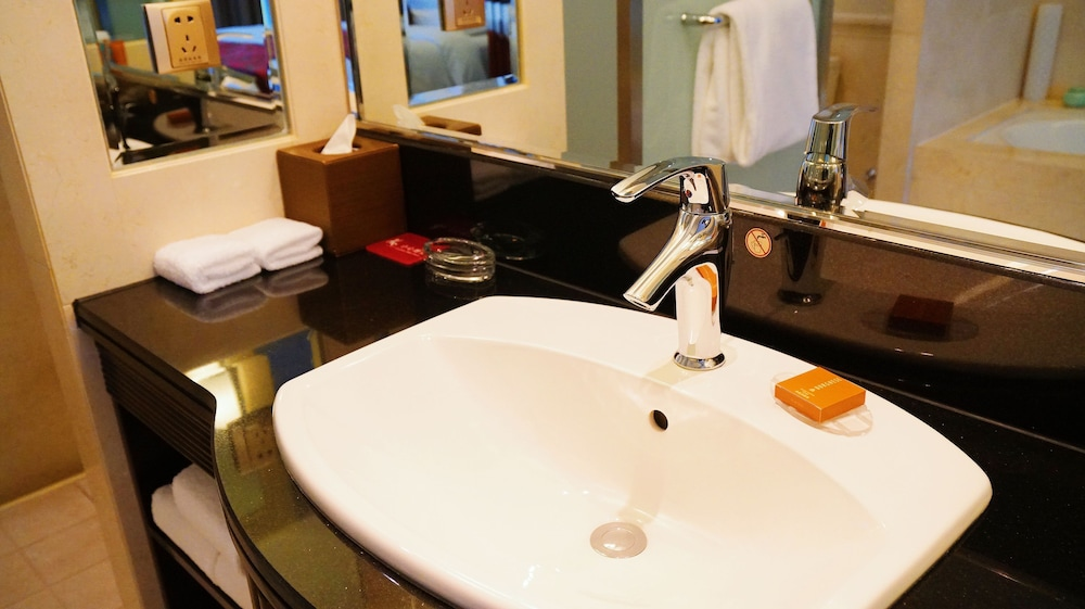 크라운 플라자 난창 리버사이드(Crowne Plaza Nanchang Riverside) Hotel Image 19 - Bathroom